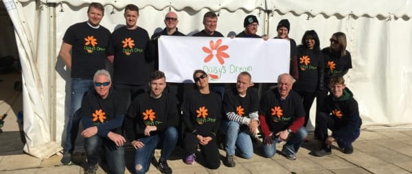18 skydivers…15,000ft…£12,500 raised