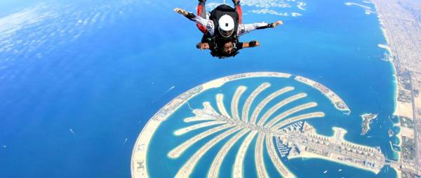 Support Safeena's Dubai Skydive